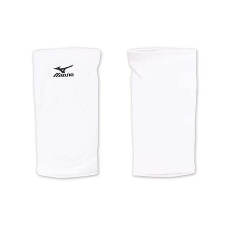 【MIZUNO】排球防撞運動護膝-巧固球 手球 一只入 美津濃 白黑