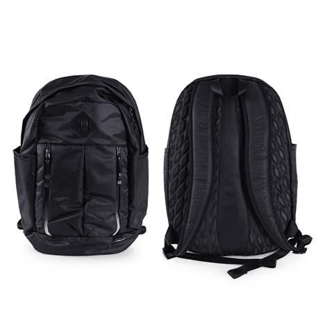 【NIKE】AURALUX雙肩包-後背包 旅行袋 黑白F