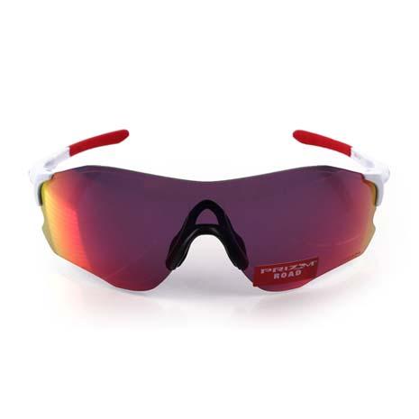 【OAKLEY】EVZERO PATH 道路專用太陽眼鏡-附硬盒鼻墊 單車 紅白F