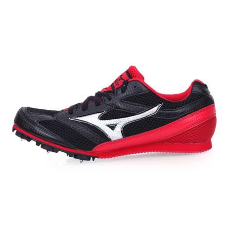 【MIZUNO】TMC SPLIT 3 男田徑釘鞋-中距離 長距離 美津濃 黑紅28.5