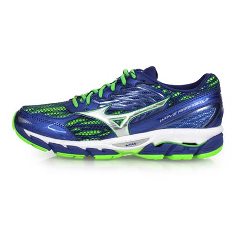 【MIZUNO】WAVE PARADOX 3 男慢跑鞋-路跑 健身 美津濃 藍綠26