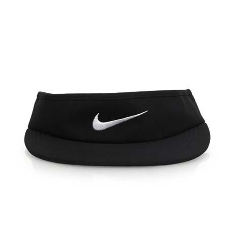 【NIKE】GOLF 可調式高爾夫遮陽帽-中空帽 帽子 黑白