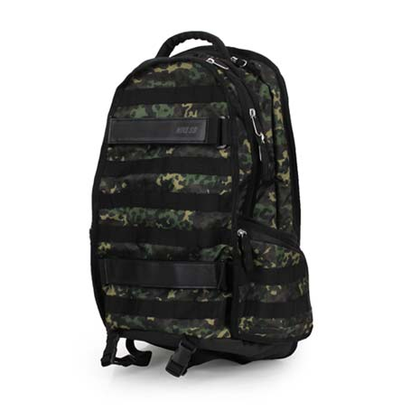 【NIKE】SB RPM GRAPHIC 後背包-雙肩包 15吋筆電 迷彩黑F