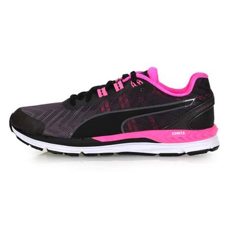 【PUMA】SPEED 600 IGNITE 2 WN 女慢跑鞋-路跑 黑粉灰24