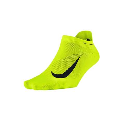 【NIKE】男女菁英輕質隱形襪-慢跑 路跑 襪子 短襪 一雙入 螢光黃黑M