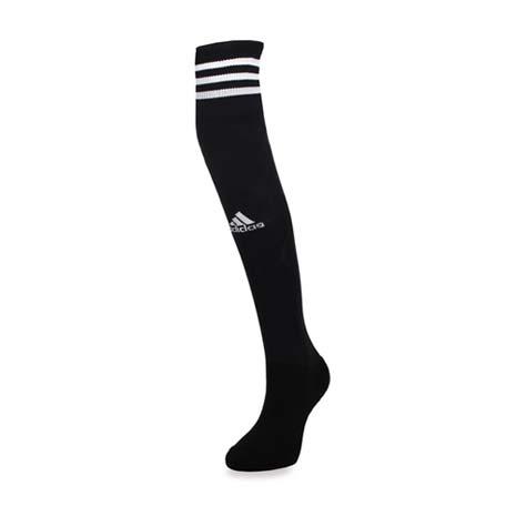 【ADIDAS】女運動襪-慢跑 路跑 襪子 長襪 膝上襪 愛迪達 黑白M