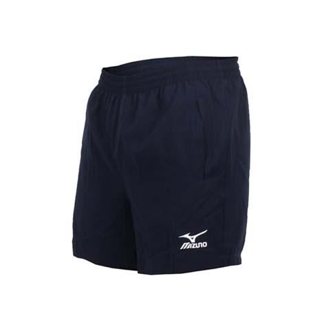 【MIZUNO】男桌球短褲-美津濃 丈青白XL