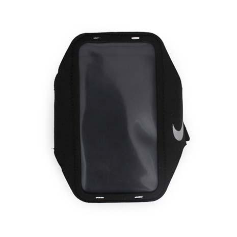【NIKE】輕量手機萬用臂包-慢跑 路跑 手機包 5.7吋螢幕適用 黑