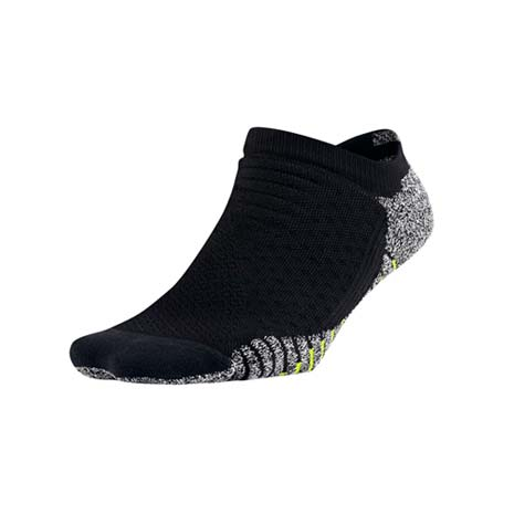 【NIKE】女GRIP輕質短襪-慢跑 路跑 襪子 短襪 一雙入 黑綠白M