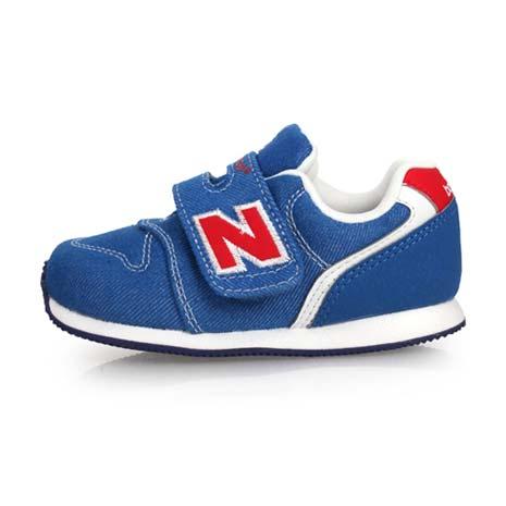 【NEWBALANCE】996系列 男女兒童復古慢跑鞋-魔鬼氈 NB N字鞋 藍紅白15