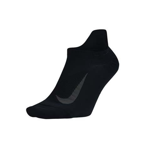 【NIKE】男女菁英輕質隱形襪-慢跑 襪子 短襪 一雙入 黑灰S
