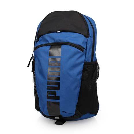 【PUMA】DECK後背包-20吋筆電 雙肩包 旅行包 電腦包 深藍黑F