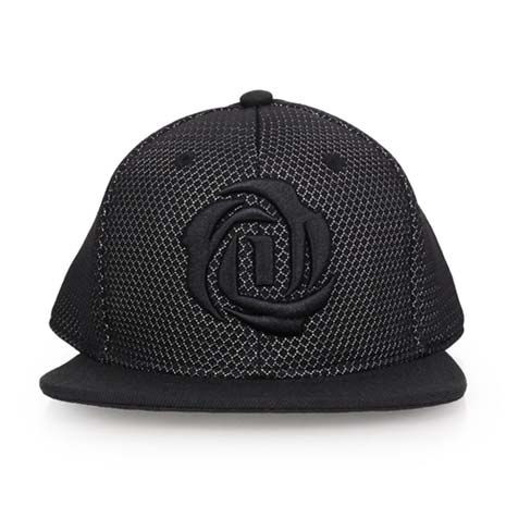 【ADIDAS】ROSE系列運動帽-鴨舌帽 帽子 慢跑 路跑 遮陽 防曬 愛迪達 奢華黑L