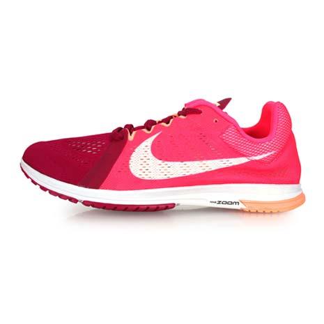 【NIKE】ZOOM STREAK LT 3 男女路跑鞋-健身 慢跑 桃紅紫24.5