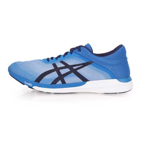 【ASICS】男慢跑鞋 FUZEX RUSH-路跑 訓練 亞瑟士 藍黑白27