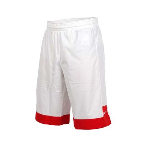 【NIKE】男針織短褲-路跑 慢跑 運動 籃球褲 白紅M