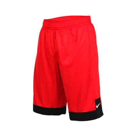【NIKE】男針織短褲-路跑 慢跑 運動 籃球褲 紅白L