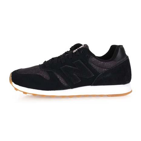 【NEWBALANCE】373系列-B 女復古休閒鞋-麂皮 NB N字鞋 奢華黑23.5
