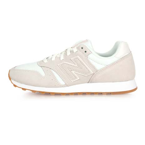 【NEWBALANCE】373系列-B 女復古休閒鞋 - 麂皮 NB N字鞋 米白25