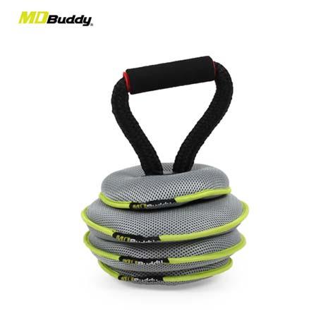 【MDBuddy】可調式沙袋壺鈴-重訓 10KG 健身 隨機F