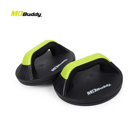 【MDBuddy】旋轉伏地挺身器-鍛鍊 核心 塑身 健身 訓練 隨機F