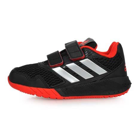 【ADIDAS】ALTARUN CF K 男女中童慢跑鞋- 路跑 童鞋 黑銀紅18.5