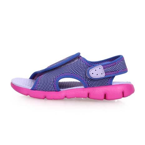 【NIKE】SUNRAY ADJUST 4-TD女嬰孩涼鞋-童鞋 兒童 淺紫粉14