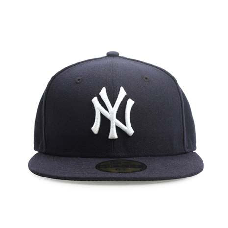 【MLB】NEW ERA 洋基隊帽-AC-NY YANKEES 大聯盟 棒球帽 丈青白54.9