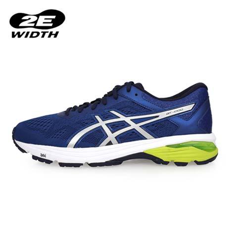 【ASICS】GT-1000 6 男慢跑鞋-2E-寬楦 路跑 亞瑟士 藍芥末綠27.5