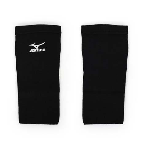 【MIZUNO】薄型防撞護肘套-排球 袖套 一只入 美津濃 黑白F