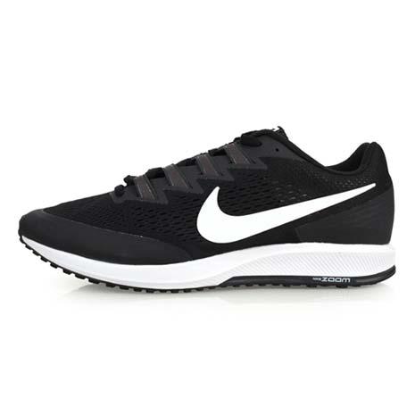 【NIKE】AIR ZOOM SPEED RIVAL 6 男女路跑鞋-慢跑 黑白28