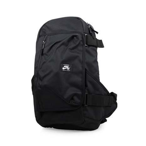 【NIKE】SB 滑板後背包-雙肩包 旅行包 運動背包 黑白F