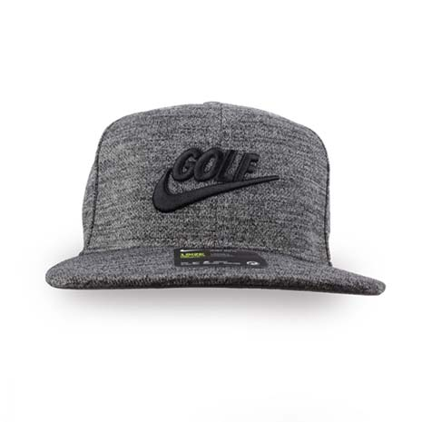 【NIKE】GOLF 男高爾夫運動帽-帽子 鴨舌帽 防曬 遮陽 高爾夫 深灰黑F