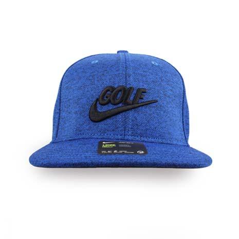 【NIKE】GOLF 男高爾夫運動帽-帽子 鴨舌帽 防曬 遮陽 高爾夫 藍黑F