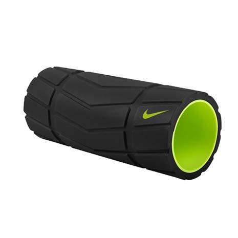 【NIKE】輔助滾筒-13吋-瑜珈柱 瑜珈滾輪 按摩滾輪 訓練 塑身 健身 黑螢光綠F