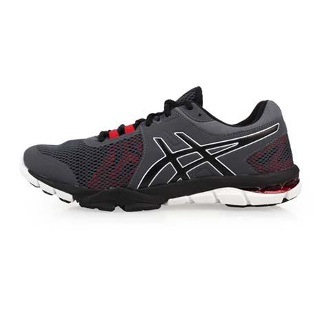【ASICS】GEL-CRAZE TR 4 男慢跑鞋-路跑 訓練 亞瑟膠 亞瑟士 鐵灰紅黑26.5