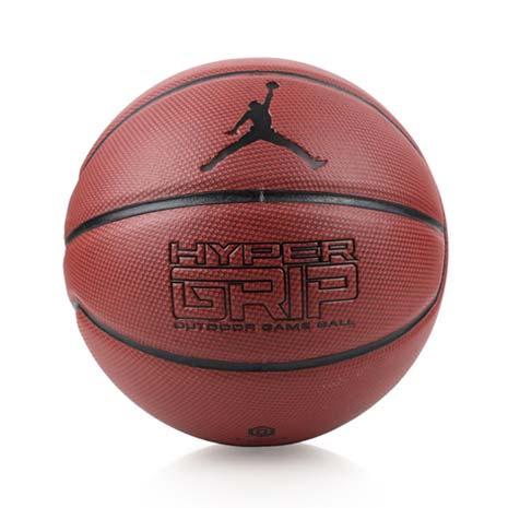 【NIKE】JORDAN HYPER GRIP 7號籃球-飛人喬丹 戶外 咖啡黑F
