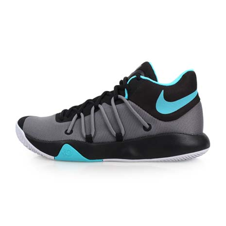 【NIKE】KD TREY 5 V EP 男籃球鞋 灰黑藍27.5