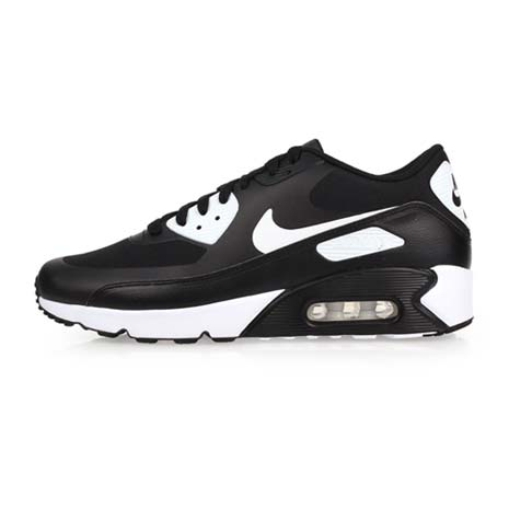 【NIKE】AIR MAX90 ULTRA 2.0 ESSENTIAL男休閒運動鞋 黑白27.5