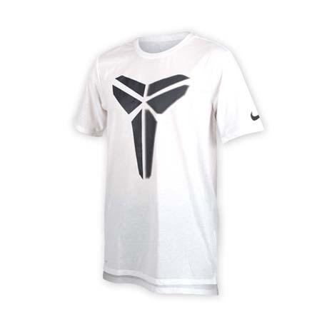 【NIKE】男針織短袖上衣-T恤 短T 籃球 NBA KOBE BRYANT 柯比 白黑XL