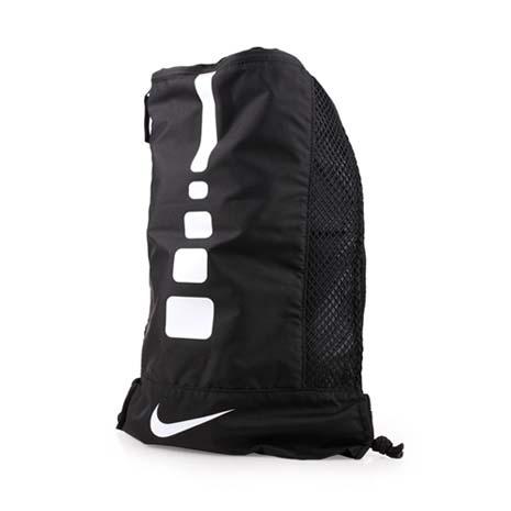 【NIKE】訓練背包-後背包 雙肩包 束口袋 收納袋 鞋袋 黑白F
