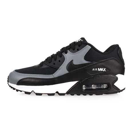 【NIKE】WMNS AIR MAX 90 LE 女休閒鞋-氣墊 慢跑 路跑 黑灰白24