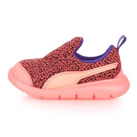 【PUMA】BAO 3 WARM INF 女男童運動鞋-輕便鞋 童鞋 慢跑 路跑 粉橘14.5