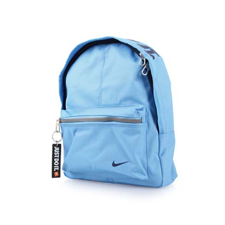 【NIKE】男女兒童經典後背包-雙肩包 水藍黑F