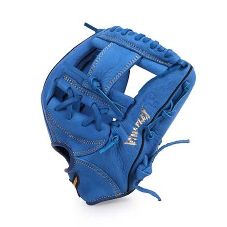 【MIZUNO】壘球手套-棒球 美津濃 藍F