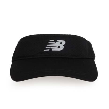 【NEWBALANCE】空心帽-中空帽 帽子 路跑 慢跑 遮陽 防曬 NB 黑F
