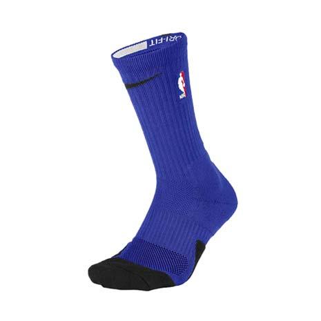 【NIKE】NBA BASKETLBALL ELITE CREW 男長襪-襪子 籃球 藍紅白L