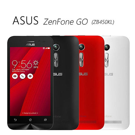 ASUS ZenFone GO(ZB450KL) 中階入門雙卡機(LTE+2G)~送保護貼