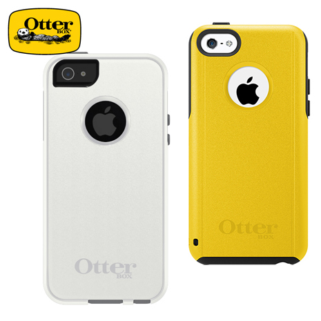 【Otterbox】Commuter iPhone 5C 防摔保護套黃色