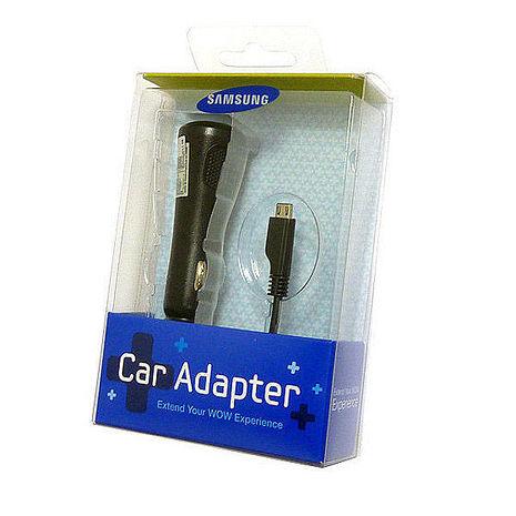 【三星原廠】Samsung Micro USB 車用充電器 + 【BuBu】乳牛造型電腦清潔刷-粉
